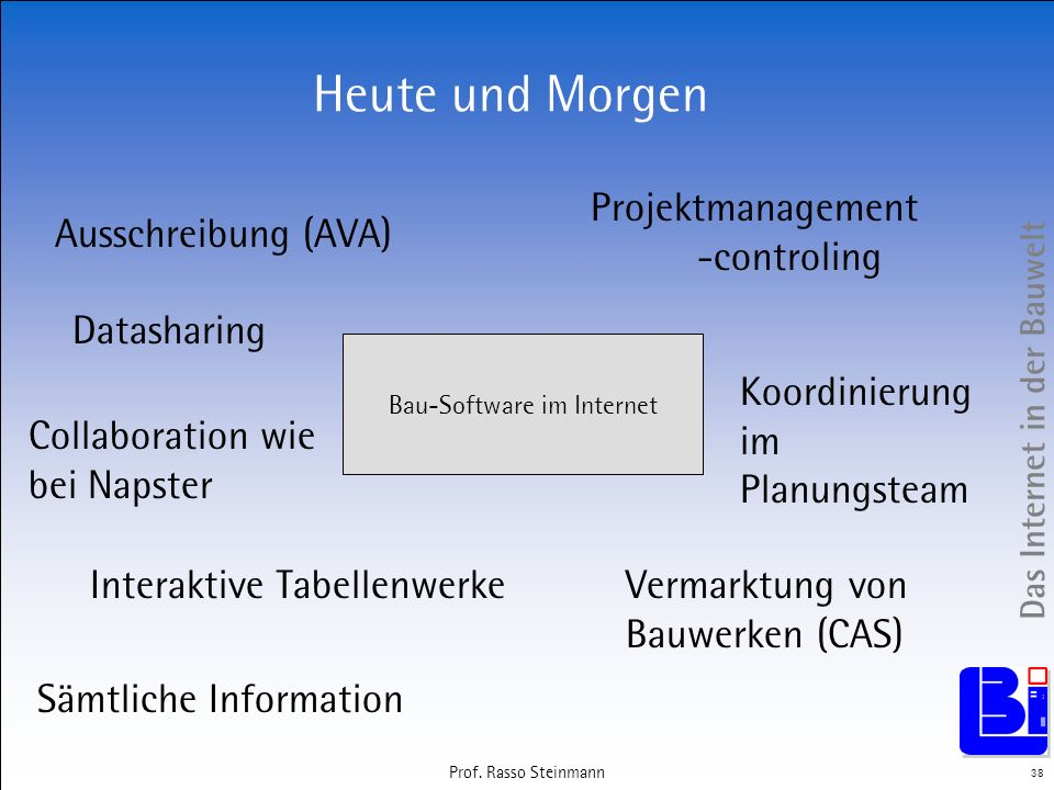 Bau-Software im Internet