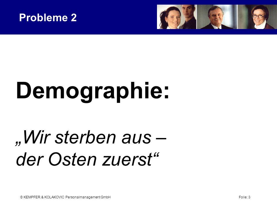 """Demographie: """"Wir sterben aus – der Osten zuerst Probleme 2"""