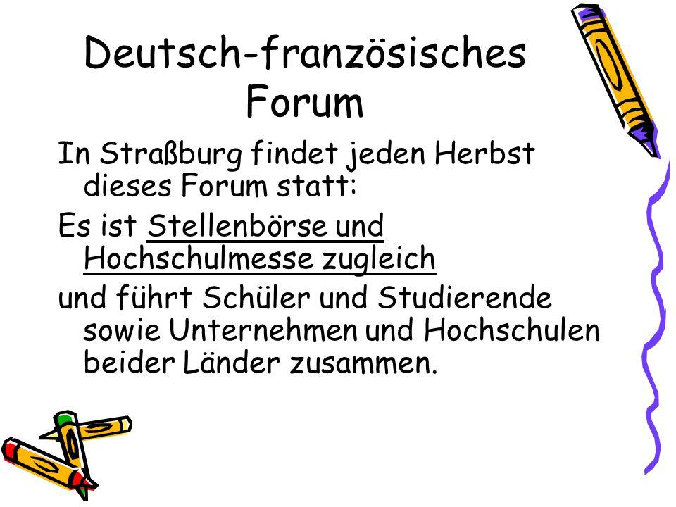 Deutsch-französisches Forum