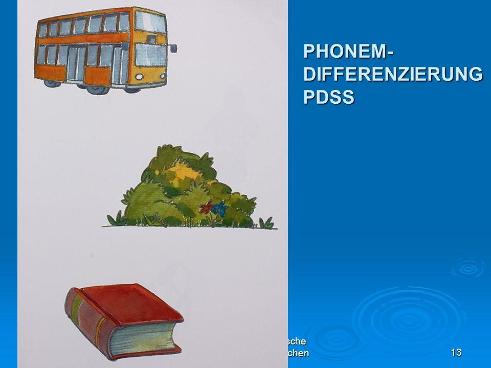 PHONEM-DIFFERENZIERUNGPDSS