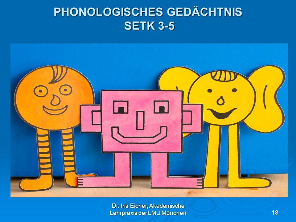 PHONOLOGISCHES GEDÄCHTNIS SETK 3-5