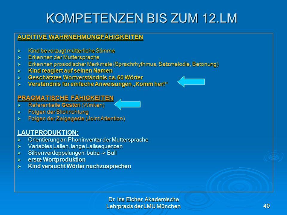 Dr. Iris Eicher, Akademische Lehrpraxis der LMU München