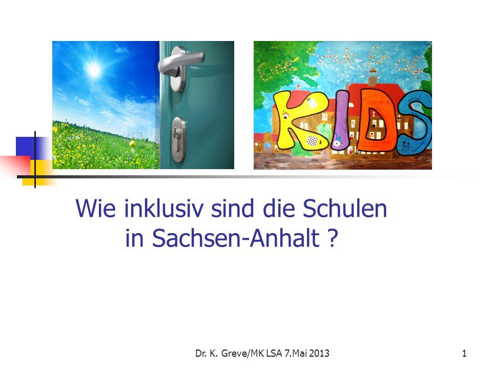 Wie inklusiv sind die Schulen in Sachsen-Anhalt