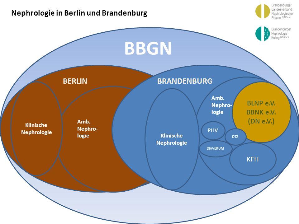 BBGN Nephrologie in Berlin und Brandenburg BERLIN BRANDENBURG