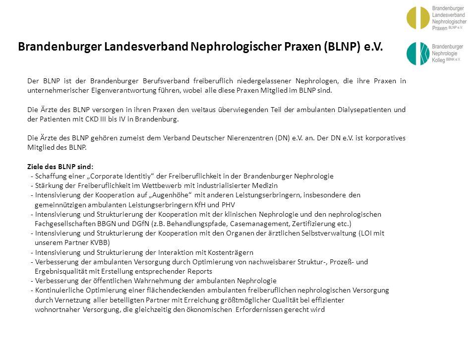 BBGN Brandenburger Landesverband Nephrologischer Praxen (BLNP) e.V.