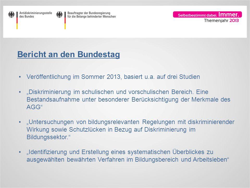 Bericht an den Bundestag
