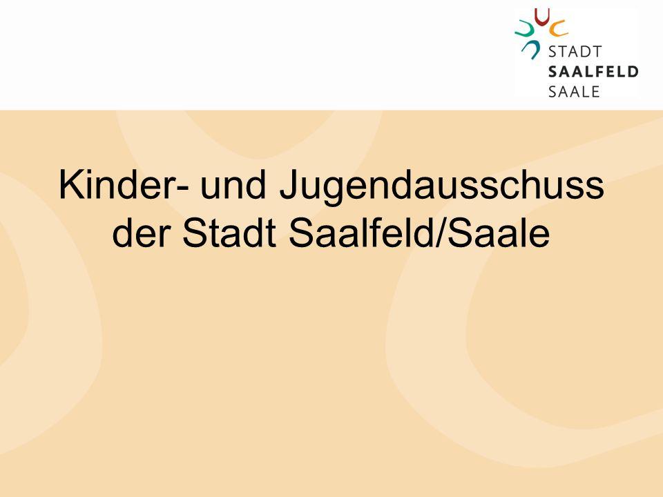 Kinder- und Jugendausschuss der Stadt Saalfeld/Saale