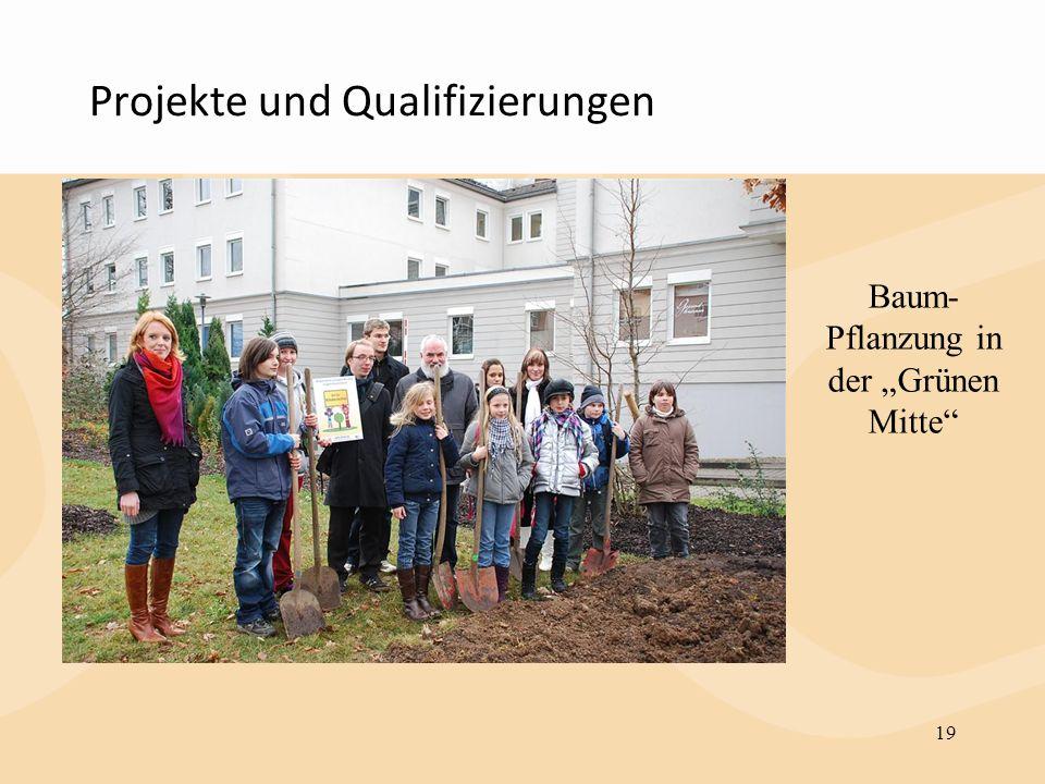 Projekte und Qualifizierungen