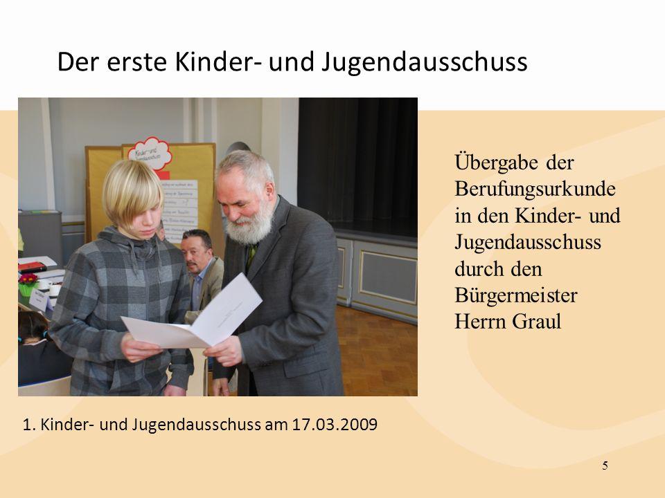 Der erste Kinder- und Jugendausschuss