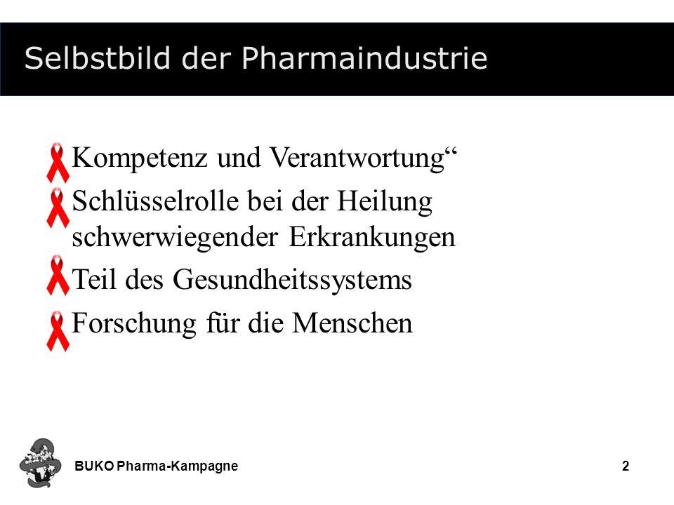 Selbstbild der Pharmaindustrie