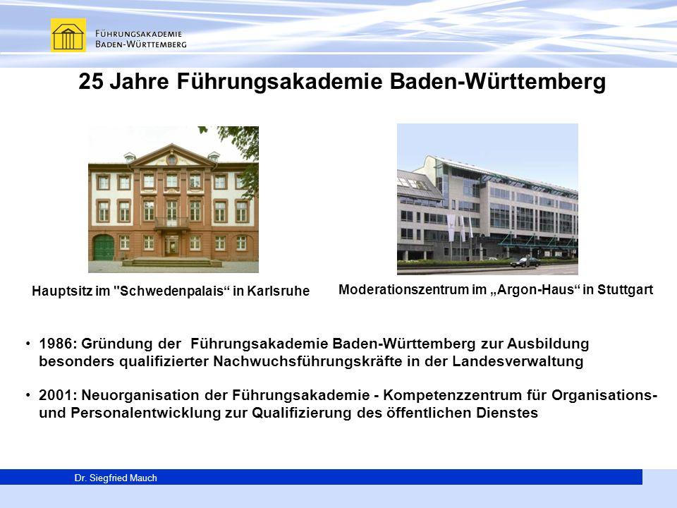 25 Jahre Führungsakademie Baden-Württemberg