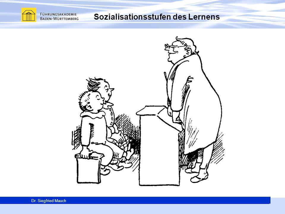 Sozialisationsstufen des Lernens