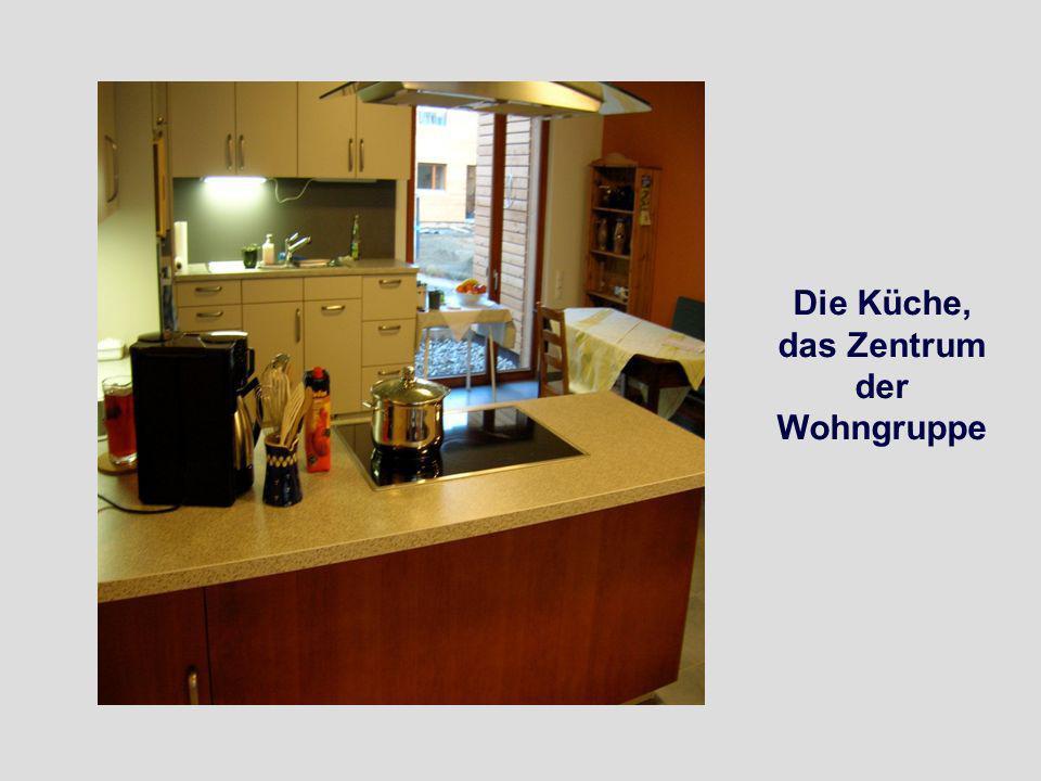 Die Küche, das Zentrum der Wohngruppe
