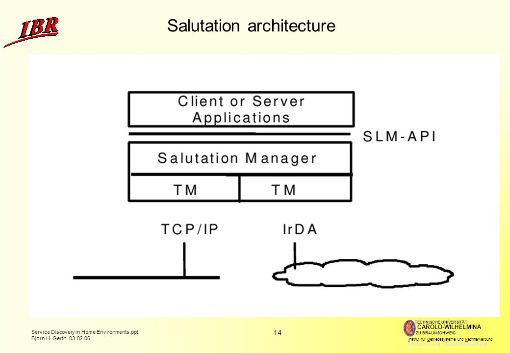 Salutation architecture