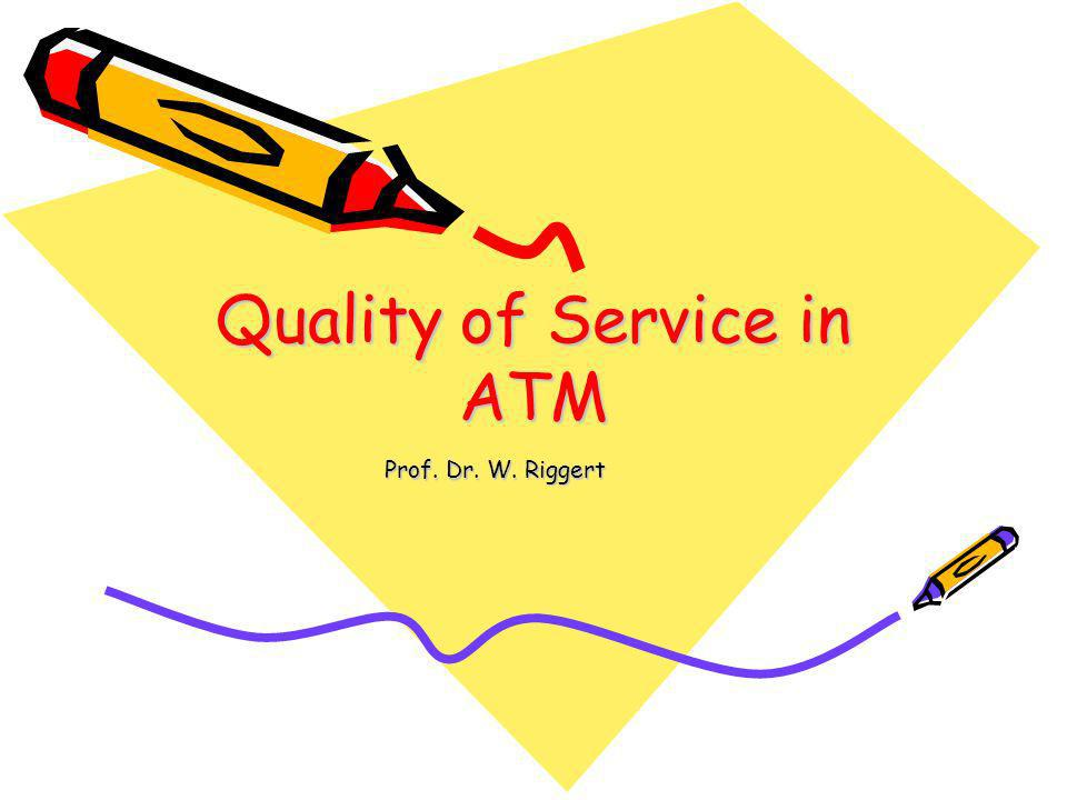 Quality of Service in ATM