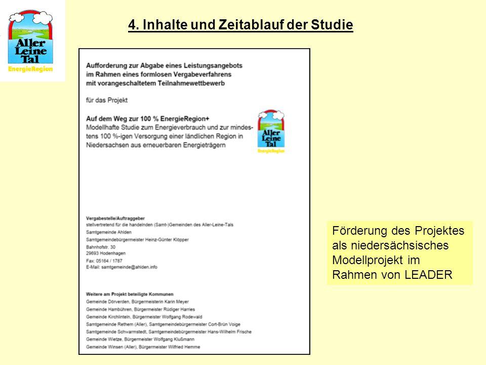 4. Inhalte und Zeitablauf der Studie