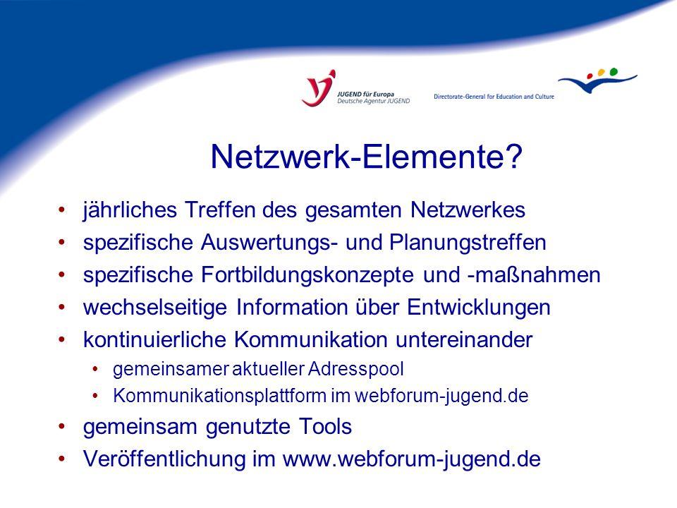Netzwerk-Elemente jährliches Treffen des gesamten Netzwerkes