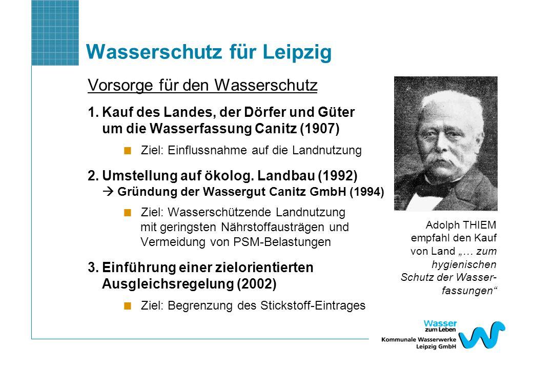 Wasserschutz für Leipzig