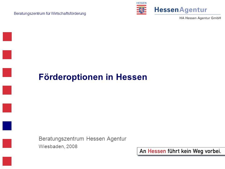 Förderoptionen in Hessen