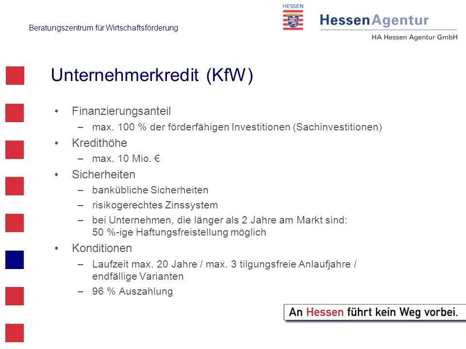 Unternehmerkredit (KfW)