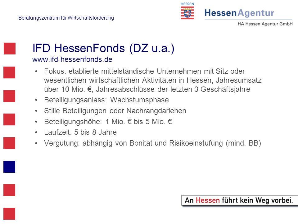 IFD HessenFonds (DZ u.a.) www.ifd-hessenfonds.de