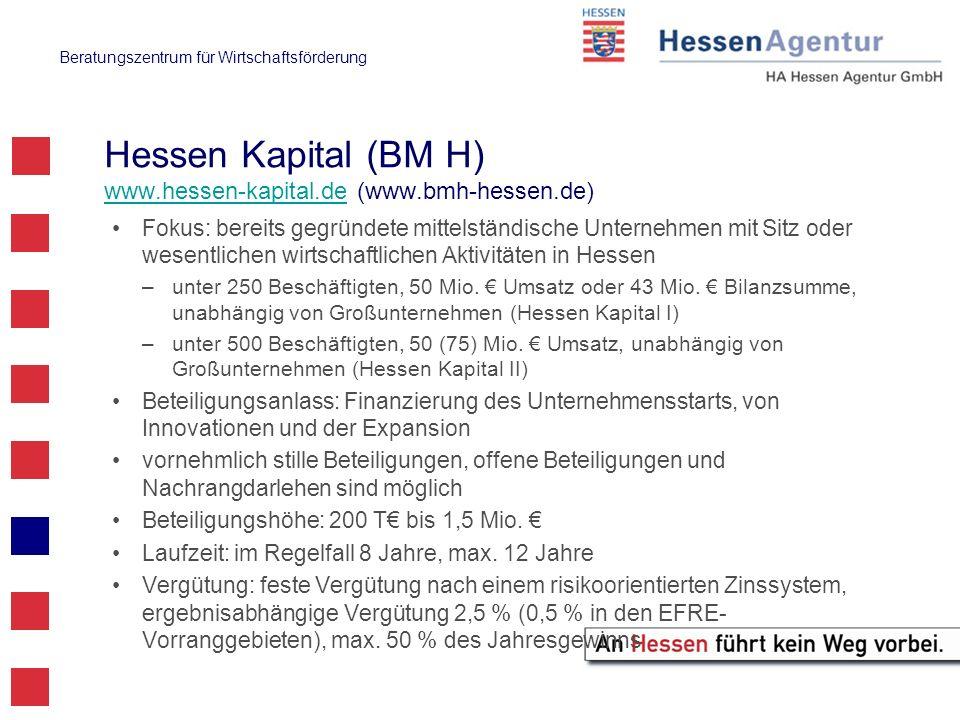 Hessen Kapital (BM H) www.hessen-kapital.de (www.bmh-hessen.de)