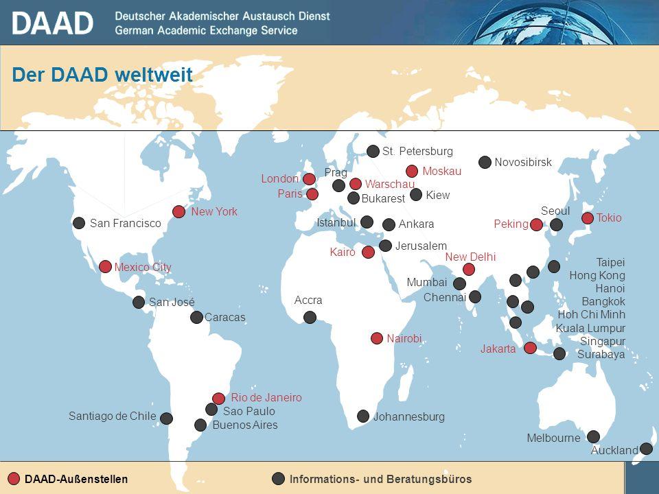 Der DAAD weltweit Informations- und Beratungsbüros San José