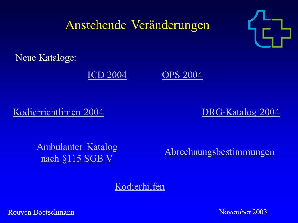 Ambulanter Katalog nach §115 SGB V