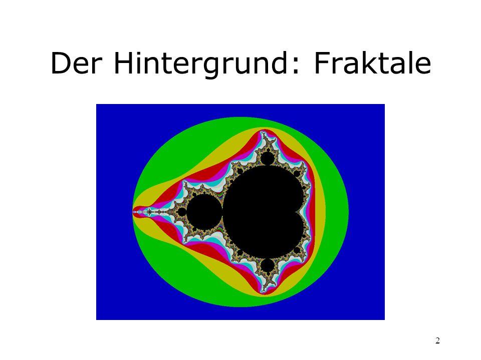 Der Hintergrund: Fraktale