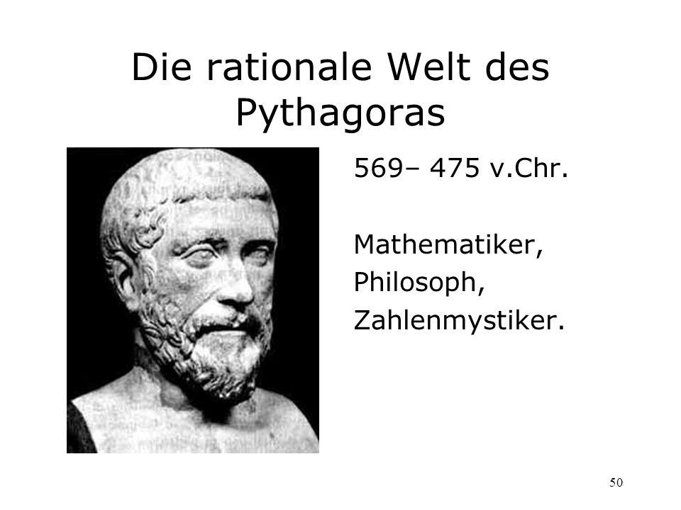 Die rationale Welt des Pythagoras