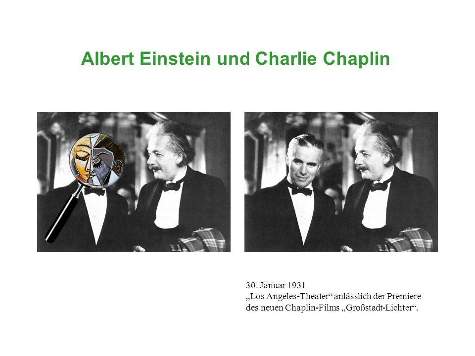 Albert Einstein und ... Charlie Chaplin