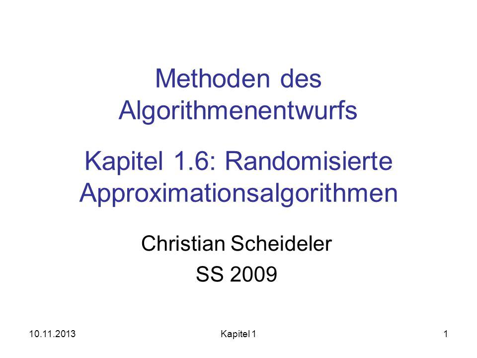 Christian Scheideler SS 2009