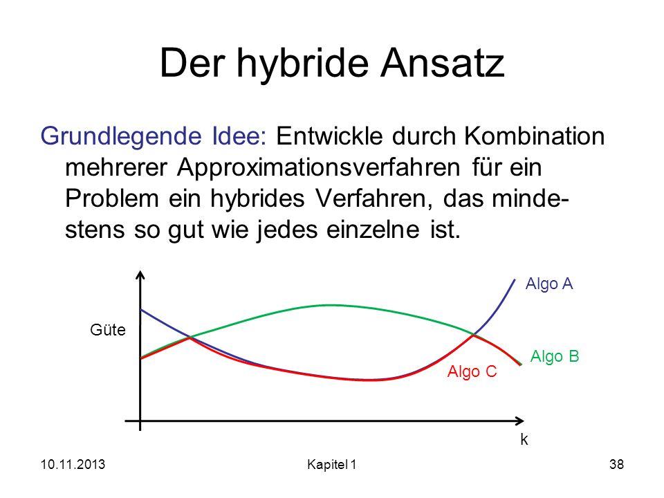 Der hybride Ansatz