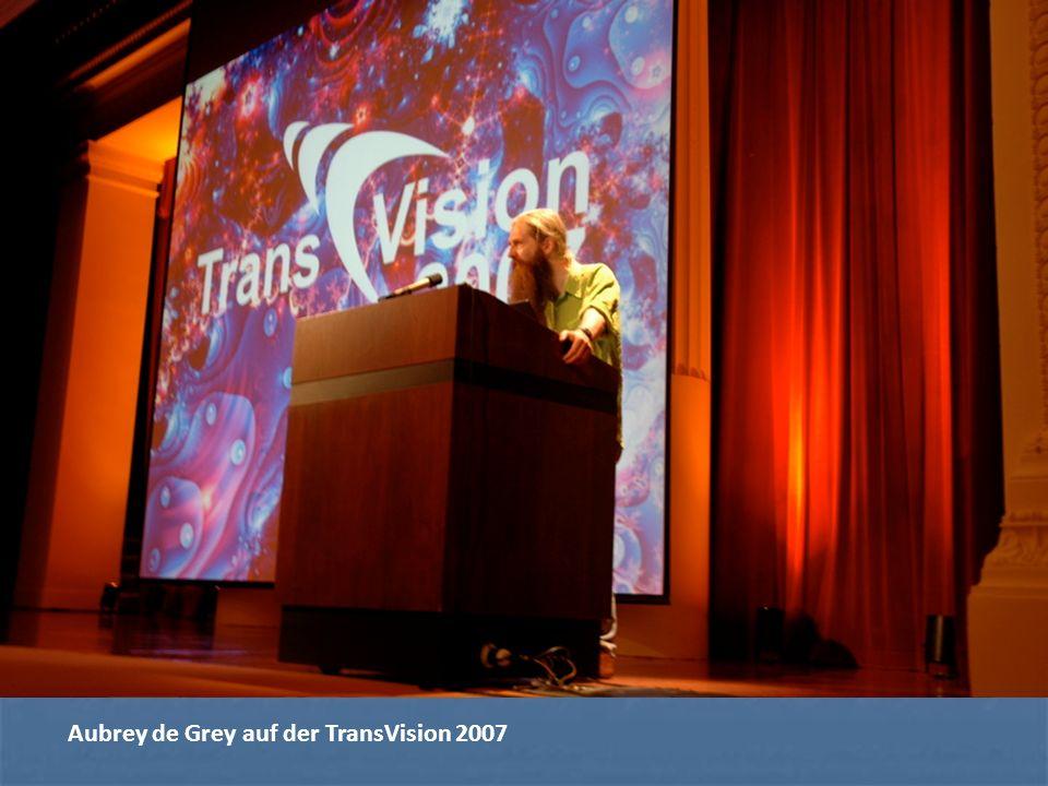 Aubrey de Grey auf der TransVision 2007