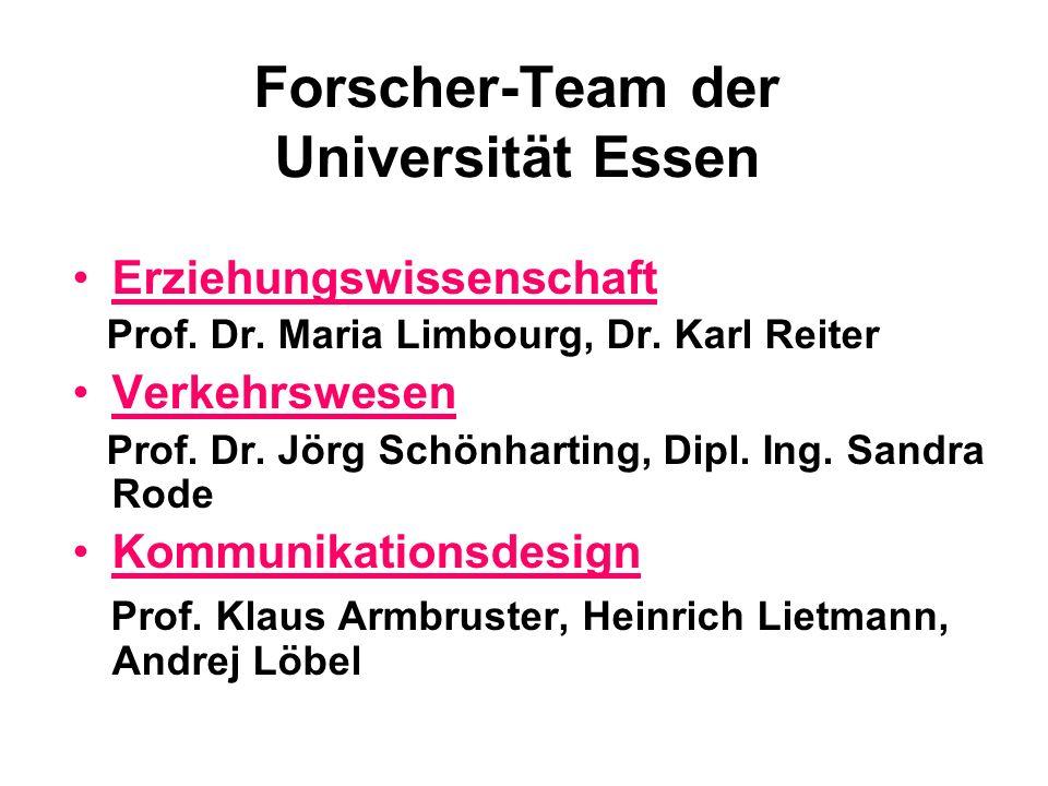 Forscher-Team der Universität Essen