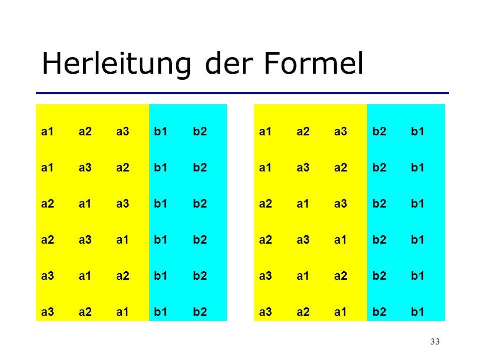 Herleitung der Formel a1 a2 a3 b1 b2