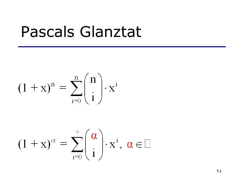 Pascals Glanztat