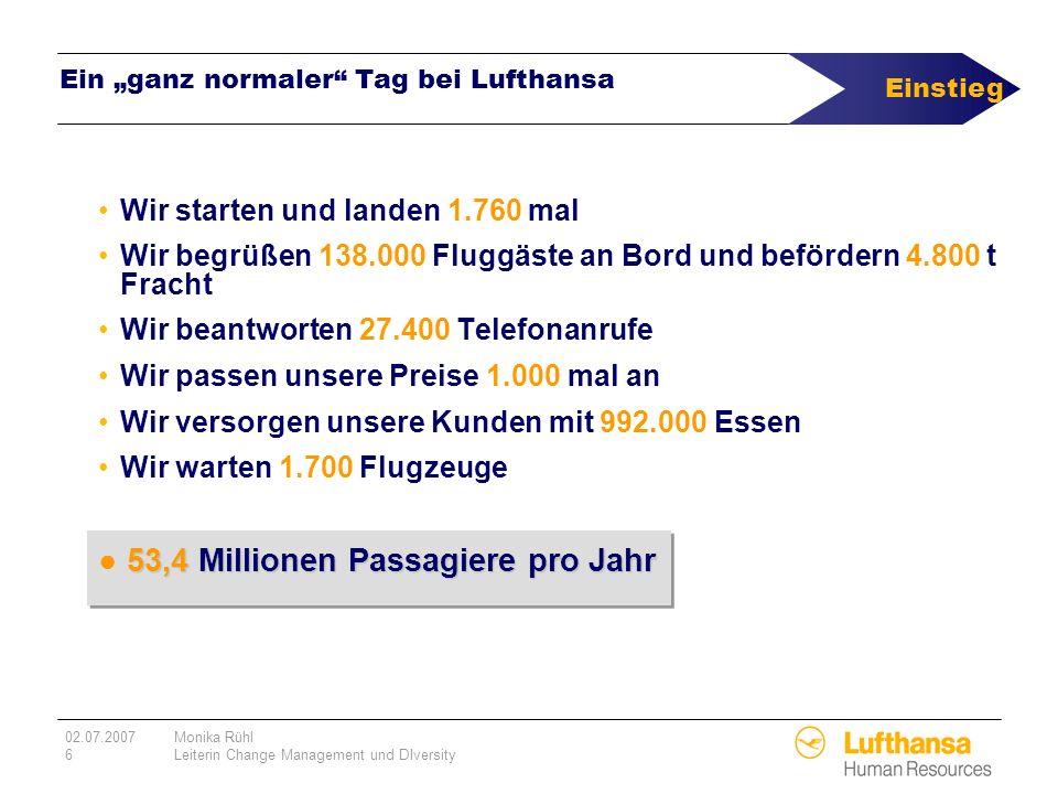 """Ein """"ganz normaler Tag bei Lufthansa"""
