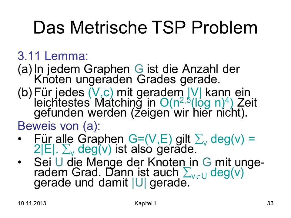 Das Metrische TSP Problem