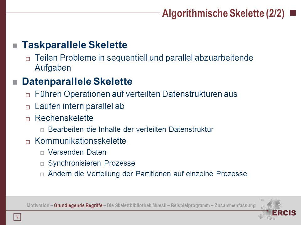 Algorithmische Skelette (2/2)