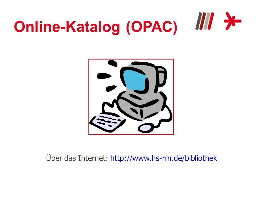 Online-Katalog (OPAC)