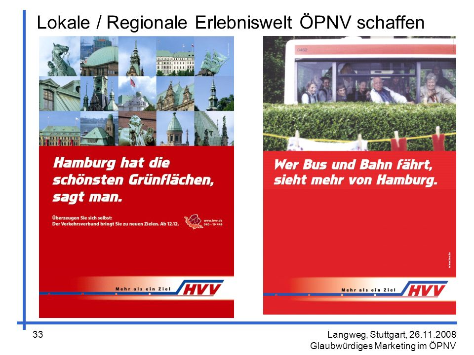 Lokale / Regionale Erlebniswelt ÖPNV schaffen