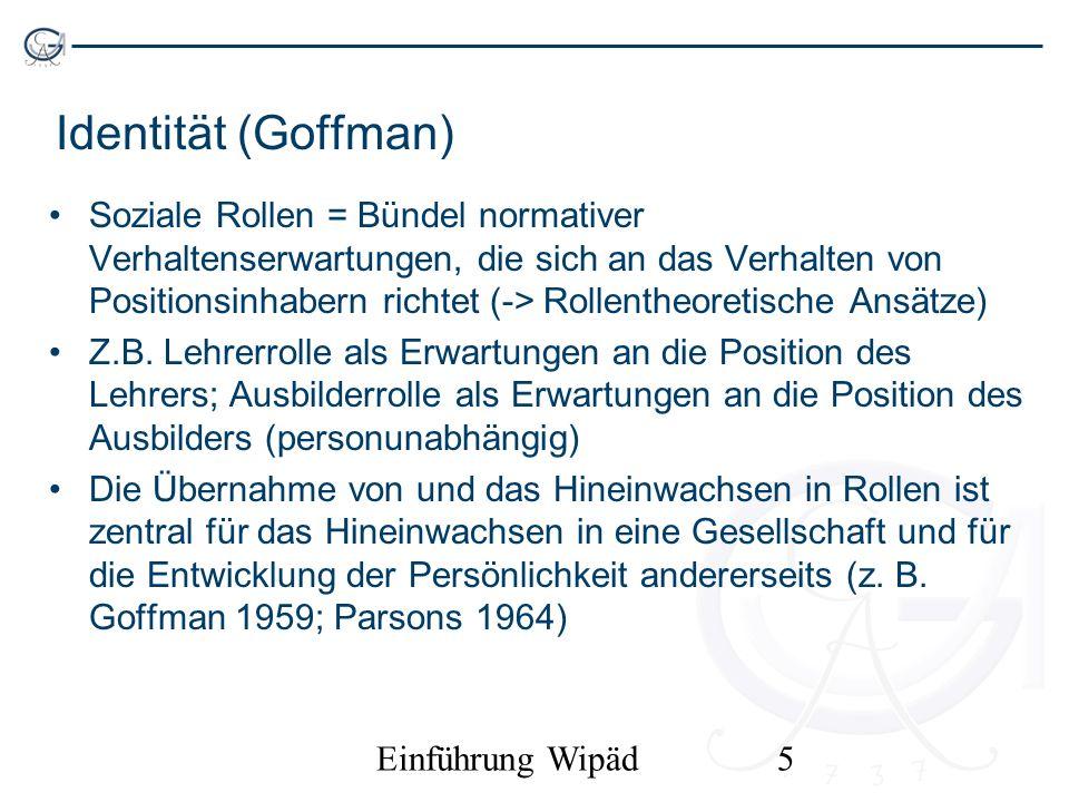 Identität (Goffman)