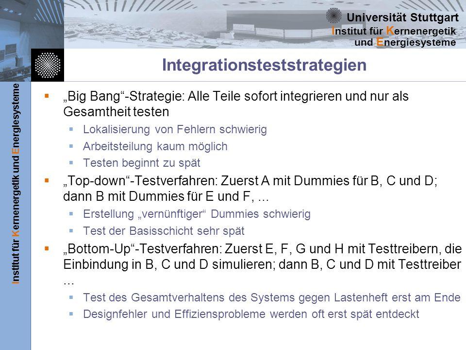 Integrationsteststrategien