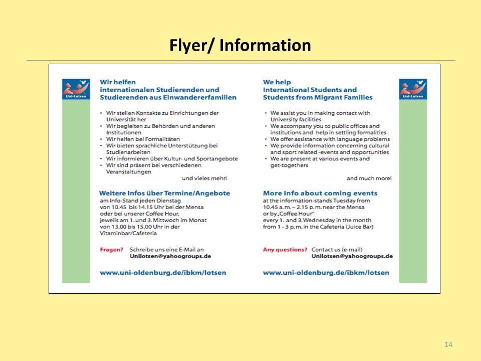 Flyer/ Information