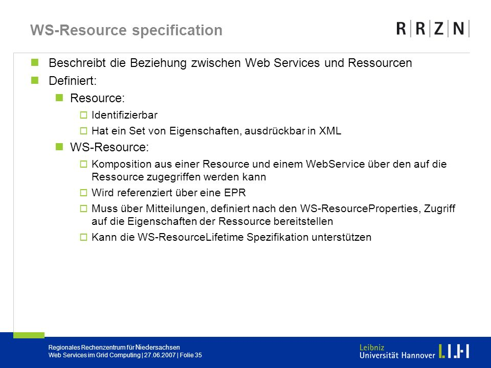 WS-Resource specification