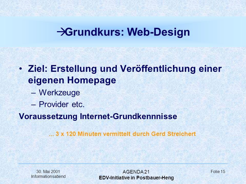 Grundkurs: Web-Design