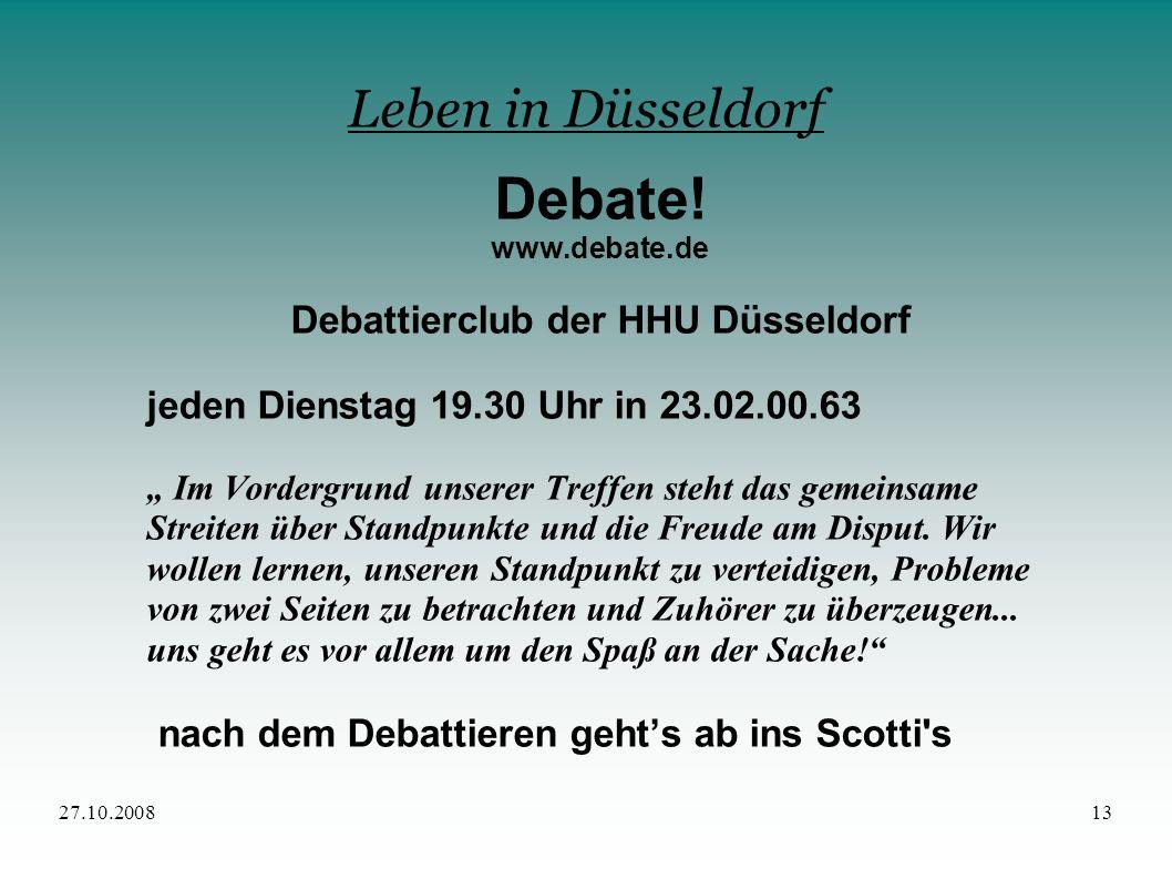 Debattierclub der HHU Düsseldorf