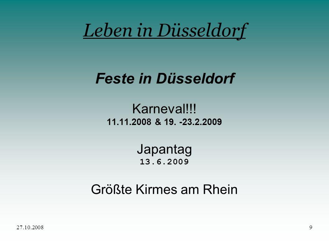 Leben in Düsseldorf Feste in Düsseldorf Karneval!!! Japantag