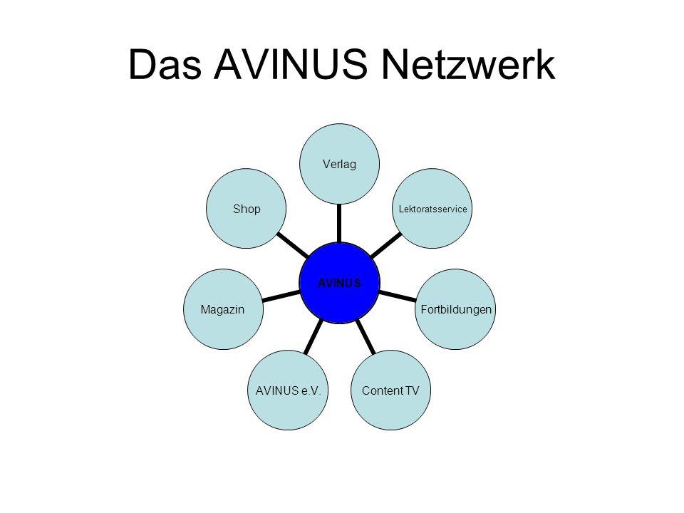 Das AVINUS Netzwerk
